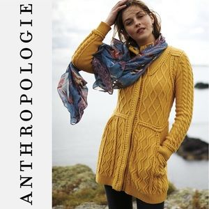 Anthropologie Sparrow Strathmore Sweater Jacket S